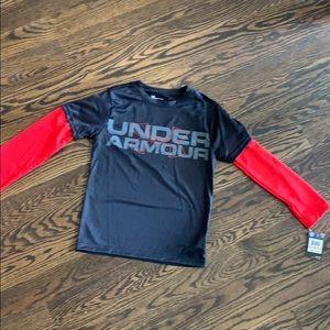Boys Under Armour Long Sleeve Shirt